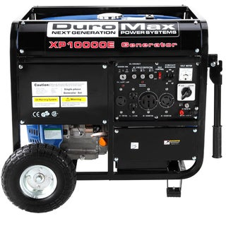 DuroMax 10,000-watt 16Hp Electric Start Generator