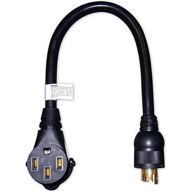 DuroMax 10/4 30 to 50-amp RV Adapter