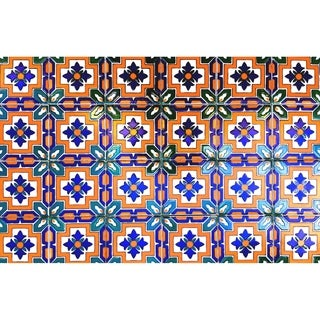 Grenada Accent Ceramic Tiles (Set of 9)
