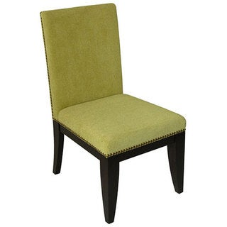 Montgomery Kiwi Polyester Upholstered Dining Chair (Set of 2)