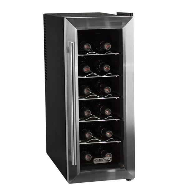 Koldfront TWR121SS 12-bottle Thermoelectric Wine Cooler Sold by Living Direct