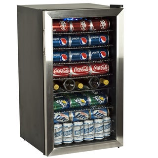 EdgeStar BWC120SS 33-bottle Stainless Steel Wine Refrigerator