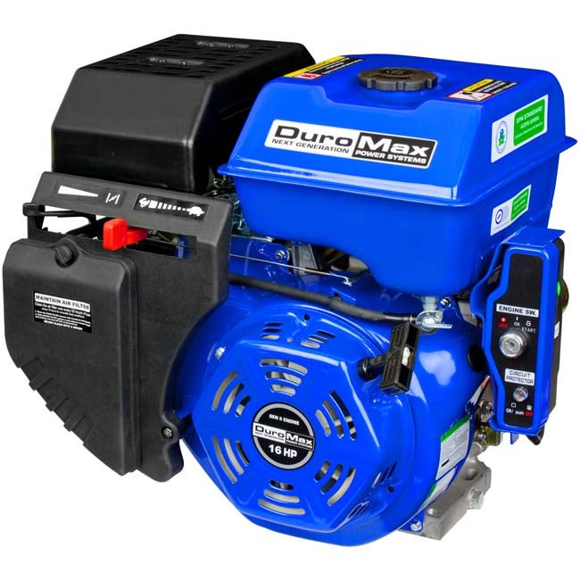 Duromax Portable 16Hp. Electric Start Gas Engine (Steel (...