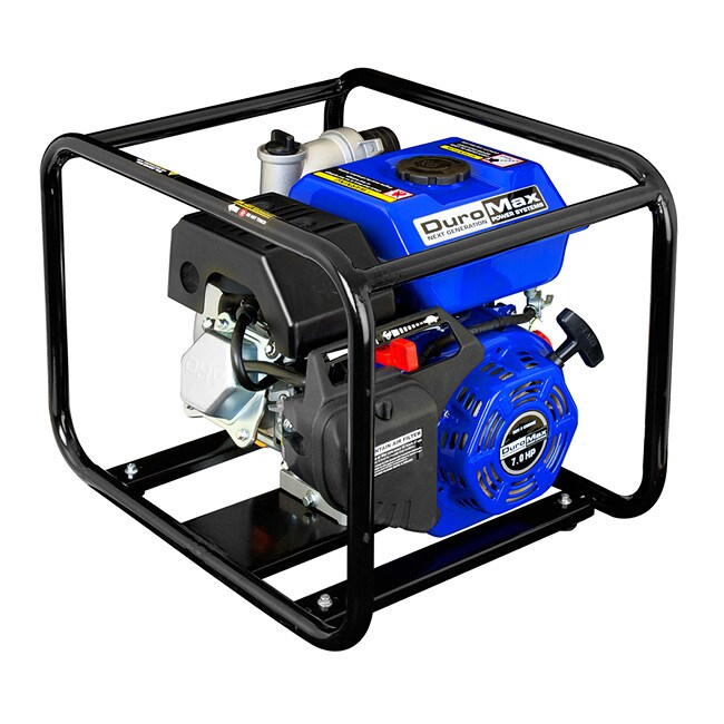DuroMax Portable 2-inch 6.5 HP Water Pump (PowerMax Porta...
