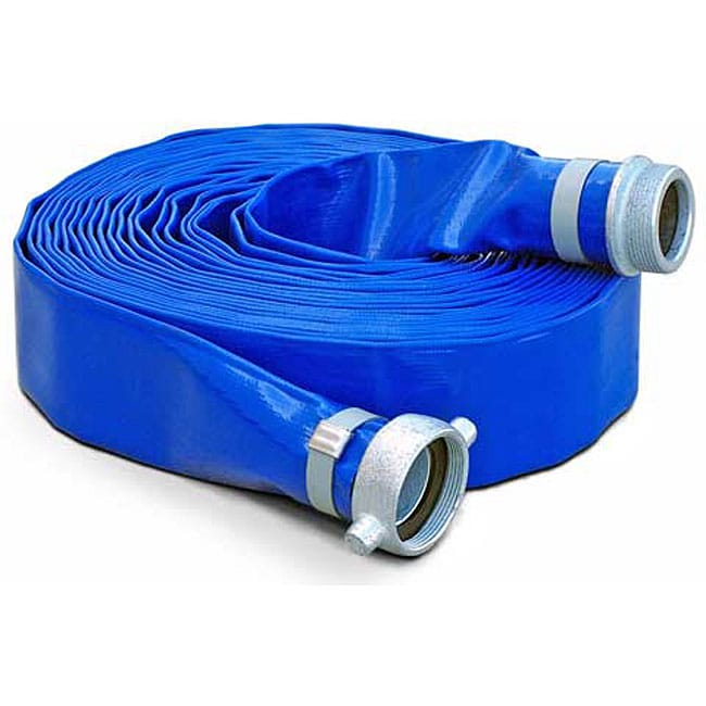 Discharge Hose For Water Pump 3 In X 50 Ft Free