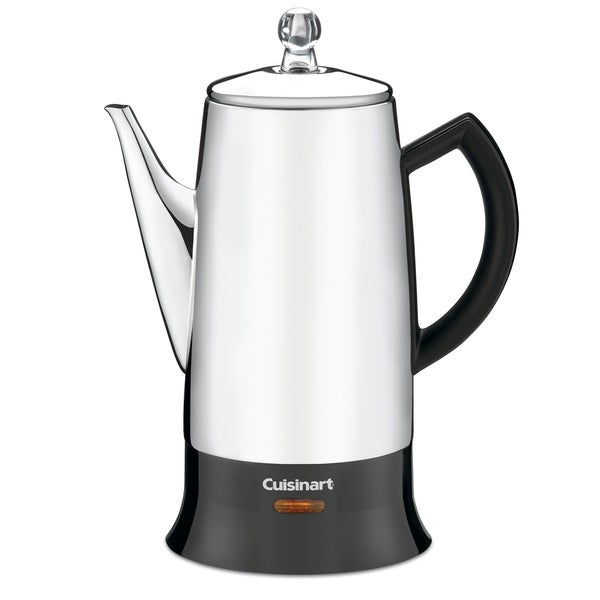 Cuisinart PRC-12FR Stainless Steel Classic Percolator (Refurbished)