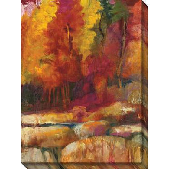 Gallery Direct Sylvia Angeli Canvas 'Mountain High V' Canvas Art
