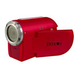 Zeikos Red Digital Video Camera - Thumbnail 1