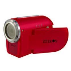 Zeikos Red Digital Video Camera - Thumbnail 2