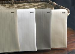 Egyptian Cotton 1200 Thread Count Pinstripe Sheet Set - Thumbnail 2