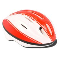 ACS Youth Red/ White Bicycle Helmet