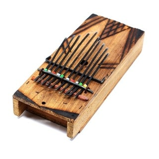 Handmade Kenyan Kalimba Thumb Piano (Kenya)
