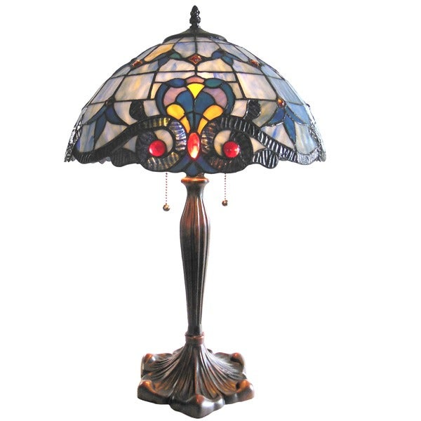 Victorian Design Tiffany-style Table Lamp