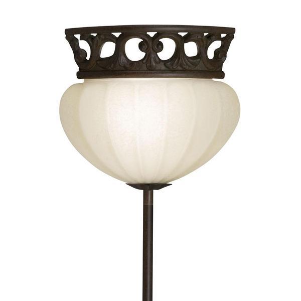 Corner Pin-up Plug-in Legacy Bronze Lamp