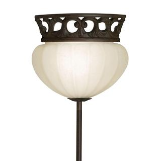 Corner Pin-up Plug-in Legacy Bronze Lamp