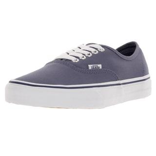 Vans Unisex Authentic Heron/True White Skate Shoe