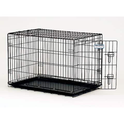 ProValu 2000 Black 1-door Pet Crate