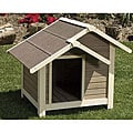 """Outback Twin Peaks Dog House, Large 45x40x37"""""""