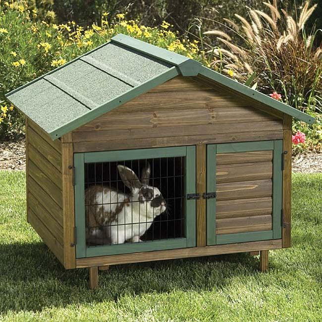 Precision Pet Rabbit Outdoor Multiplex Cage with ...