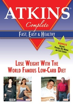 Atkins Complete - Fast, Easy and Healthy (DVD)