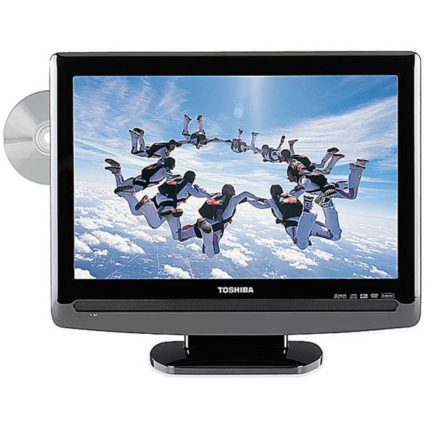 3211d368fb96 Shop Toshiba 19LV505 19-inch 720p LCD HDTV/ DVD Combo (Refurbished) - Free  Shipping Today - Overstock - 3626653