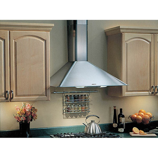 Broan Elite Stainless Steel 30 Inch Wall Hood