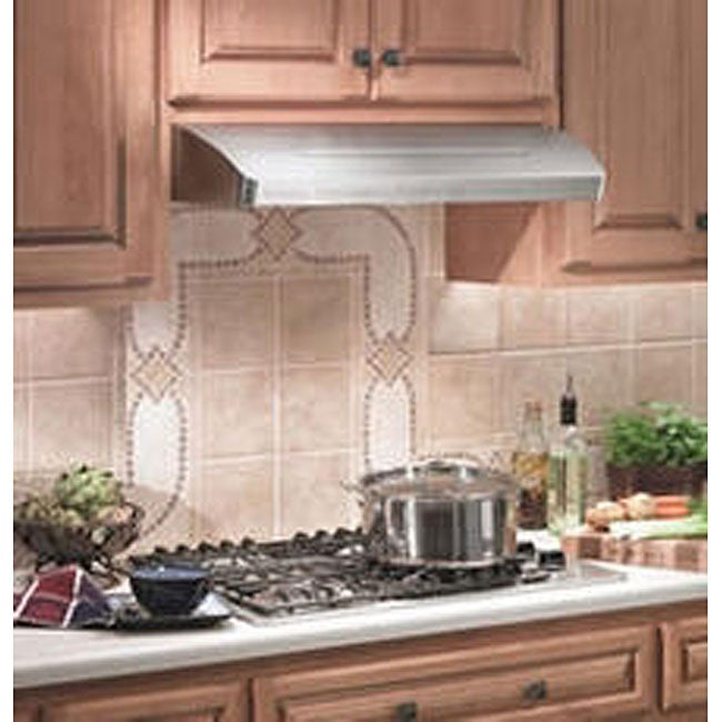Top 5 Best Kitchen Cabinets Inserts For Sale 2017: Broan 36-inch Stainless Steel Under-cabinet Range Hood