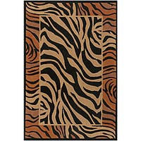 Artist's Loom Handmade Flatweave Transitional Animal Natural Eco-friendly Jute Rug (7'9x10'6)