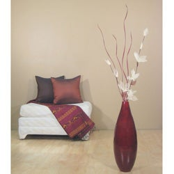 Floral Arrangement 24-inch Teardrop Floor Vase