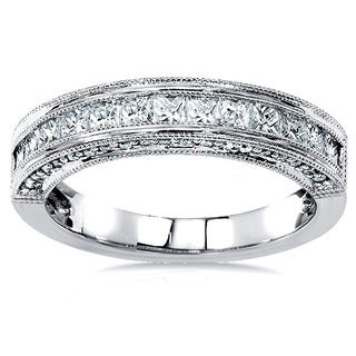 Annello by Kobelli 14k Gold 3/4ct TDW Princess Diamond Band (H-I,I1-I2)