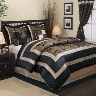 Link to Nanshing Pastora 7-Piece Patchwork Comforter Set Similar Items in Comforter Sets