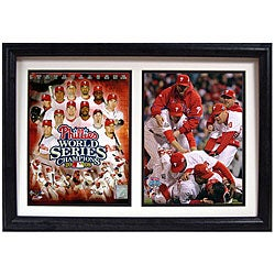 Phillies 2008 World Series 12x18 Double Print