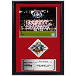 Phillies 2008 World Series 12x18 Print and Patch