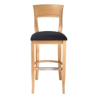 Natural Biedermier Barstool