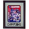 New York Giants 2007 Champs 11x14 Deluxe Framed Print