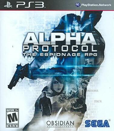 PS3 - Alpha Protocol- By Sega of America