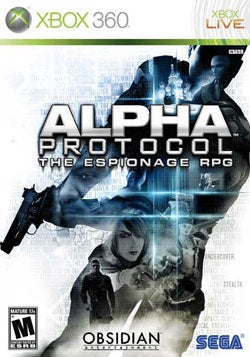 Xbox 360 - Alpha Protocol- By Sega of America