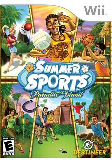 Wii - Summer Sports: Paradise Island