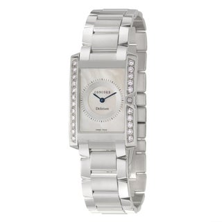 Concord Delirium Women's 18k White Gold Quartz Watch