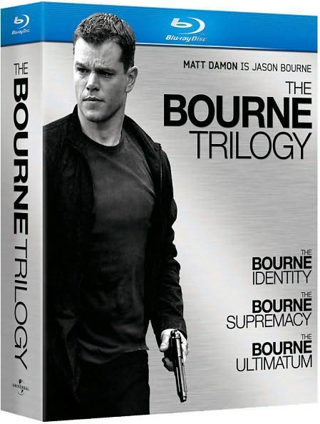 The Bourne Trilogy (Blu-ray Disc)