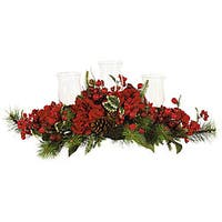 Holiday Hydrangea Candelabrum