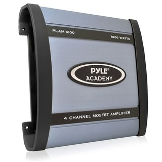 Pyle PLAM1600 1600-watt 4-channel Bridgeable Amplifier