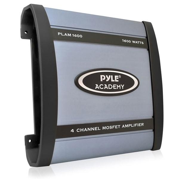 Pyle PLAM1600 1600-watt 4-channel Bridgeable Amplifier