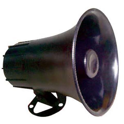 Pyle PSP8 All Weather Mono Trumpet Horn Speaker Portable PA Speaker 180 Degree Swiveling Adjustable Bracket