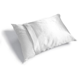 Haircare Standard Woven Polyester Satin Pillow Cover (Case of 6)