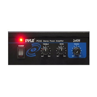 Pyle Mini 40-watt Car Stereo Power Amplifier