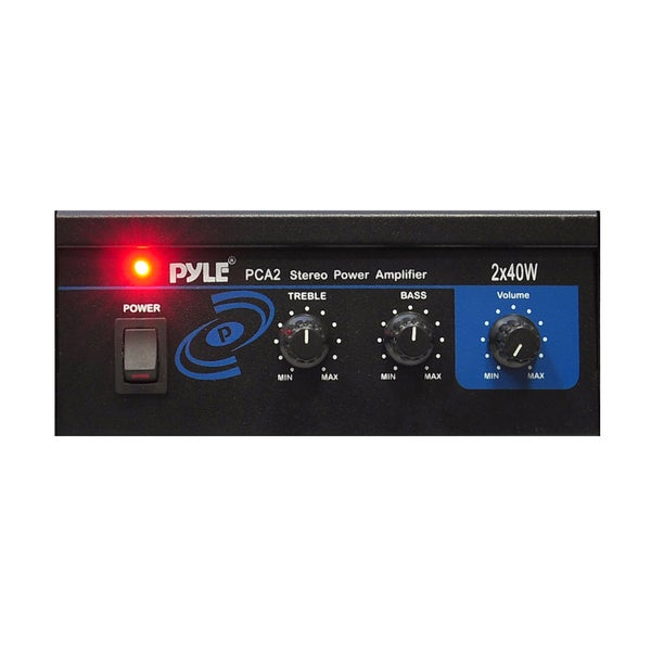 Pyle Mini 40-watt Car Stereo Power Amplifier