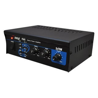 Pyle Mini 75-watt Car Stereo Power Amplifier