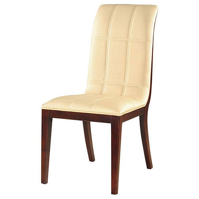 Royal Leather Dining Chairs (Set of 2)