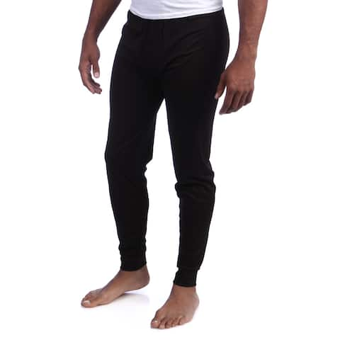 Kenyon Men's Machine-washable Black Silkyester Bottoms